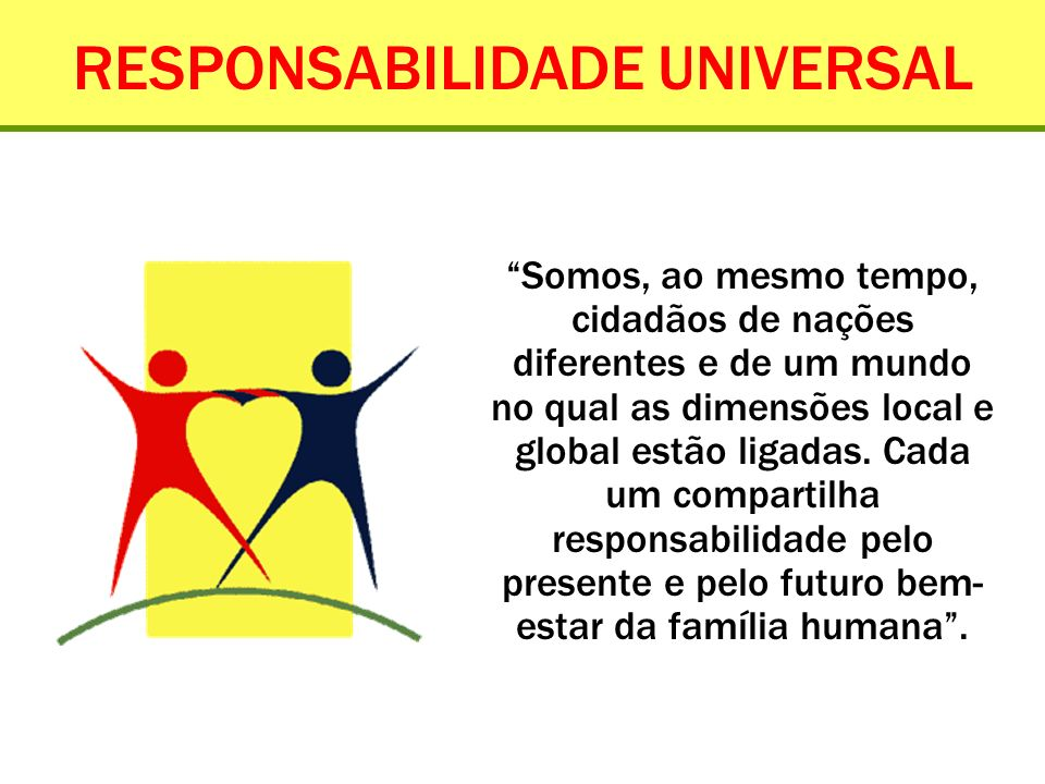 RESPONSABILIDADE UNIVERSAL