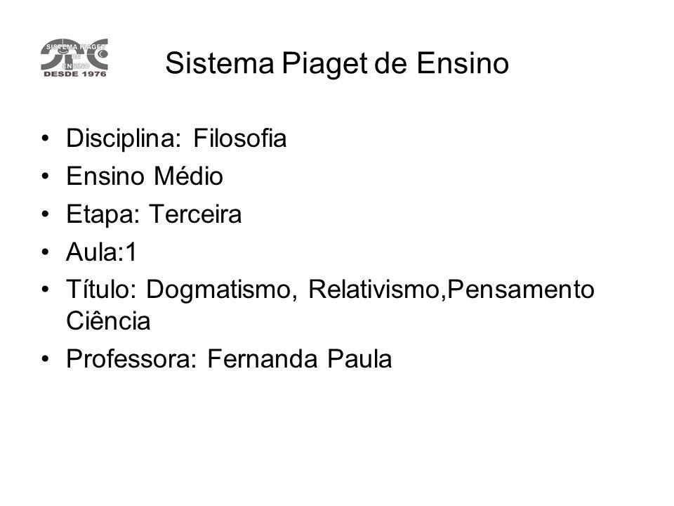 Sistema Piaget de Ensino