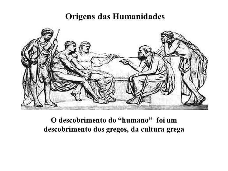 Origens das Humanidades
