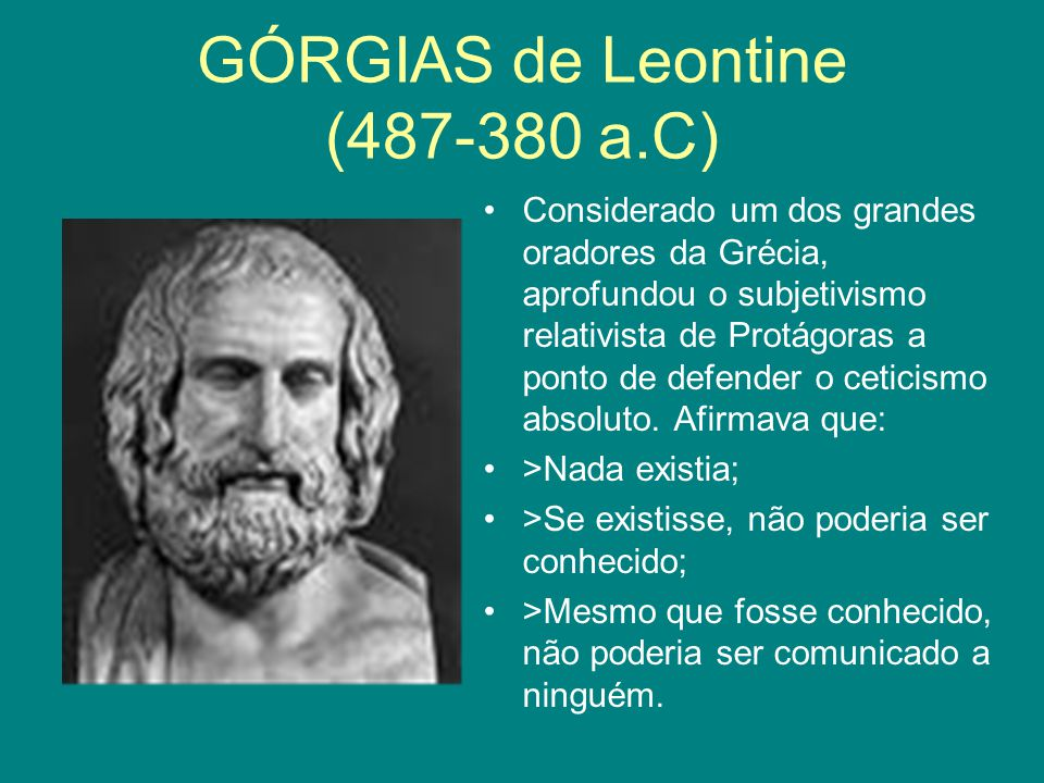 Górgias de Leontine (487-380 a.C)