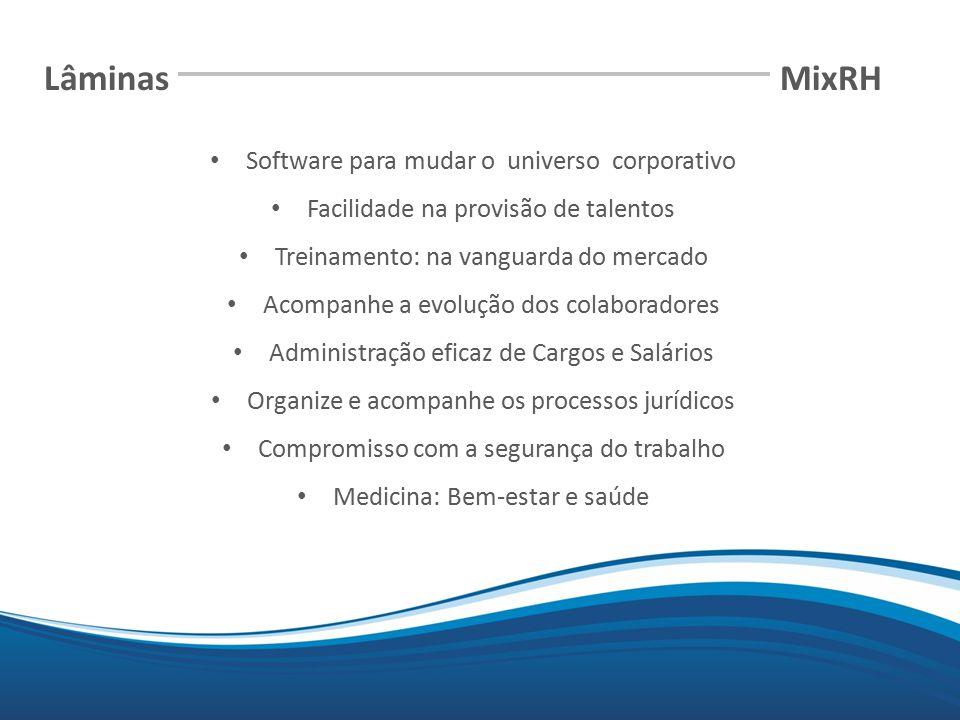 Lâminas MixRH Software para mudar o universo corporativo
