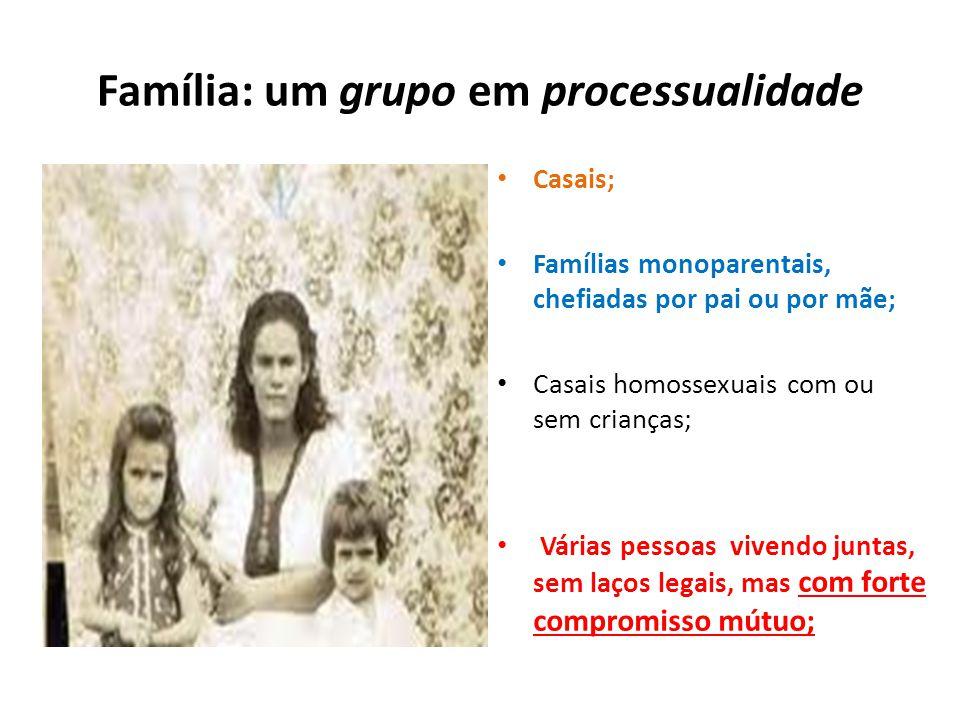 Família: um grupo em processualidade