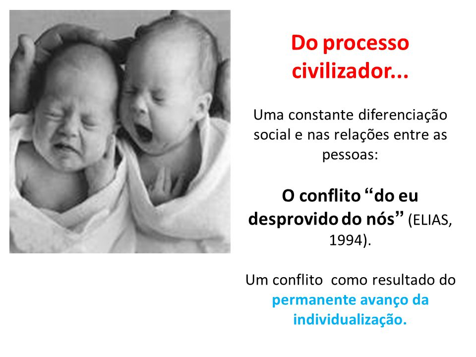 Do processo civilizador