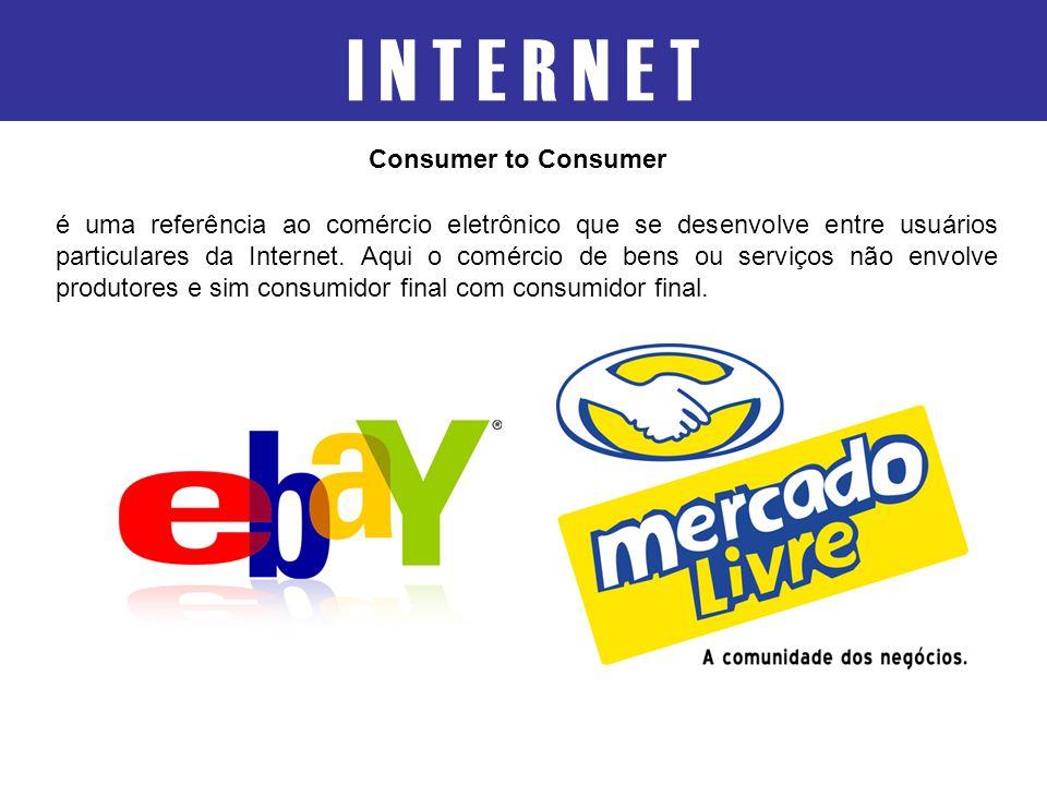 I N T E R N E T Consumer to Consumer