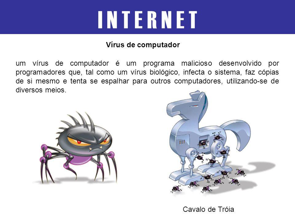 I N T E R N E T Vírus de computador