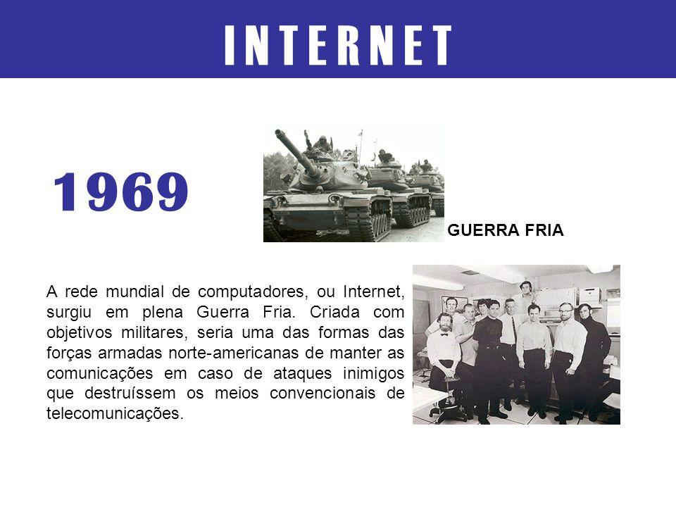 I N T E R N E T 1969. GUERRA FRIA.
