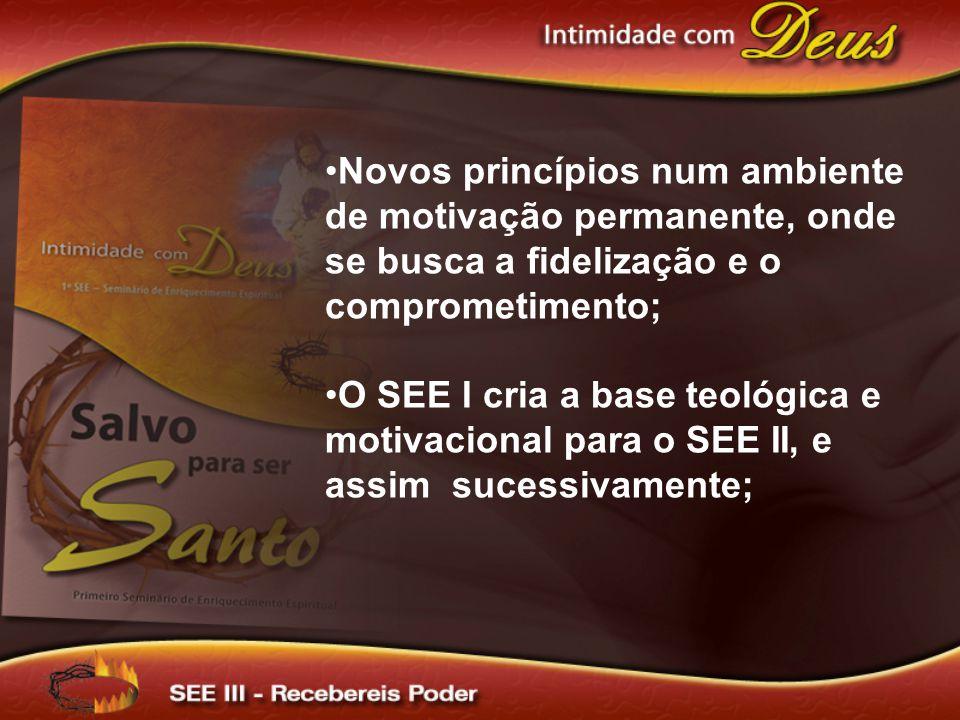 Novos princípios num ambiente de motivação permanente, onde se busca a fidelização e o comprometimento;