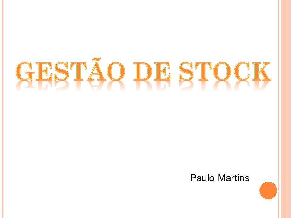 Gestão de stock Paulo Martins