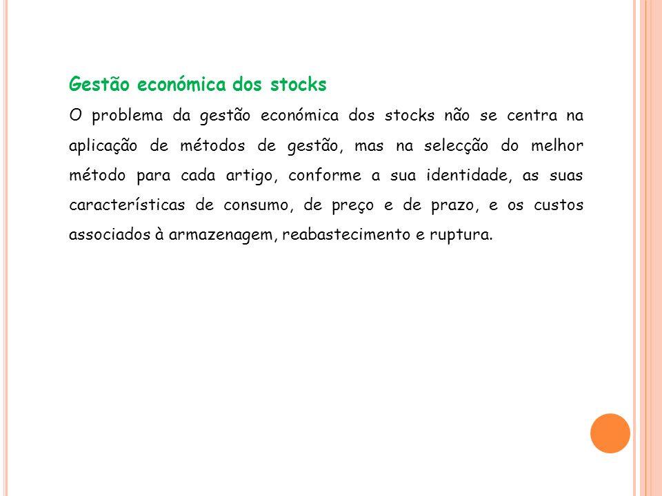 Gestão económica dos stocks