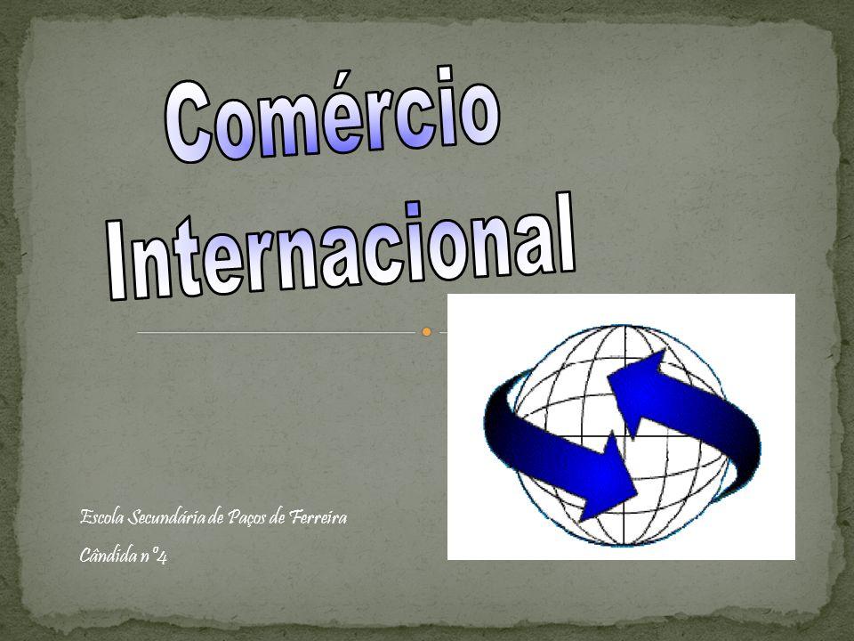 Comércio Internacional Escola Secundária de Paços de Ferreira