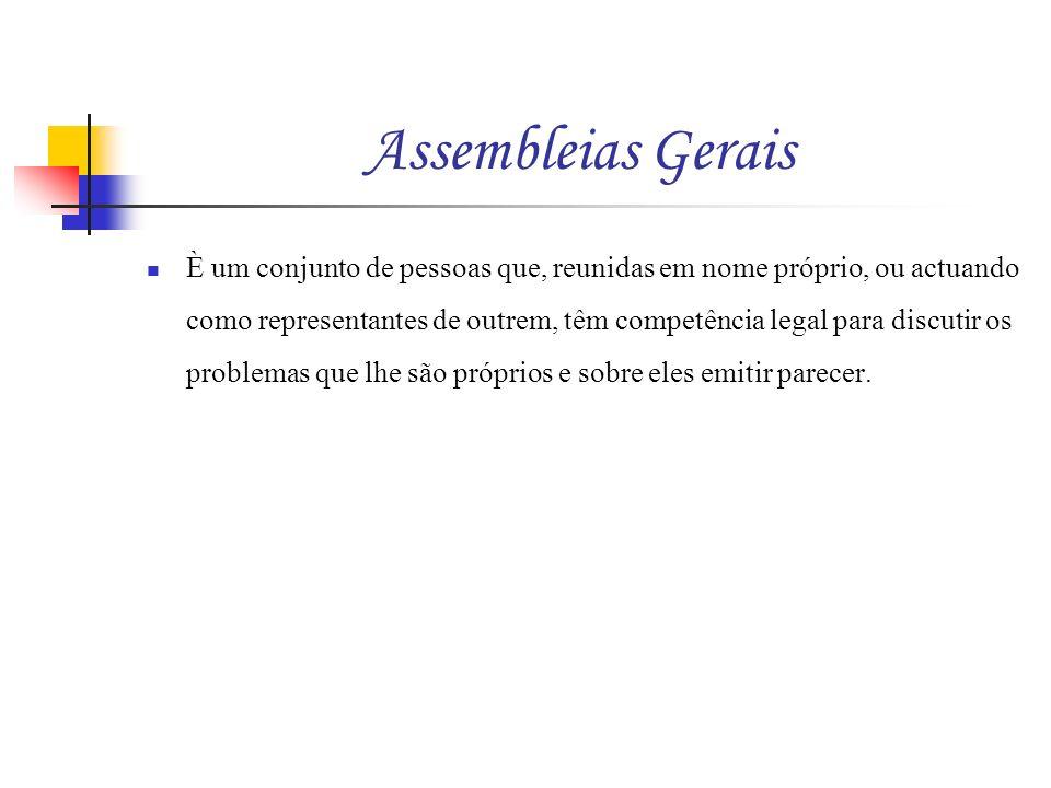 Assembleias Gerais