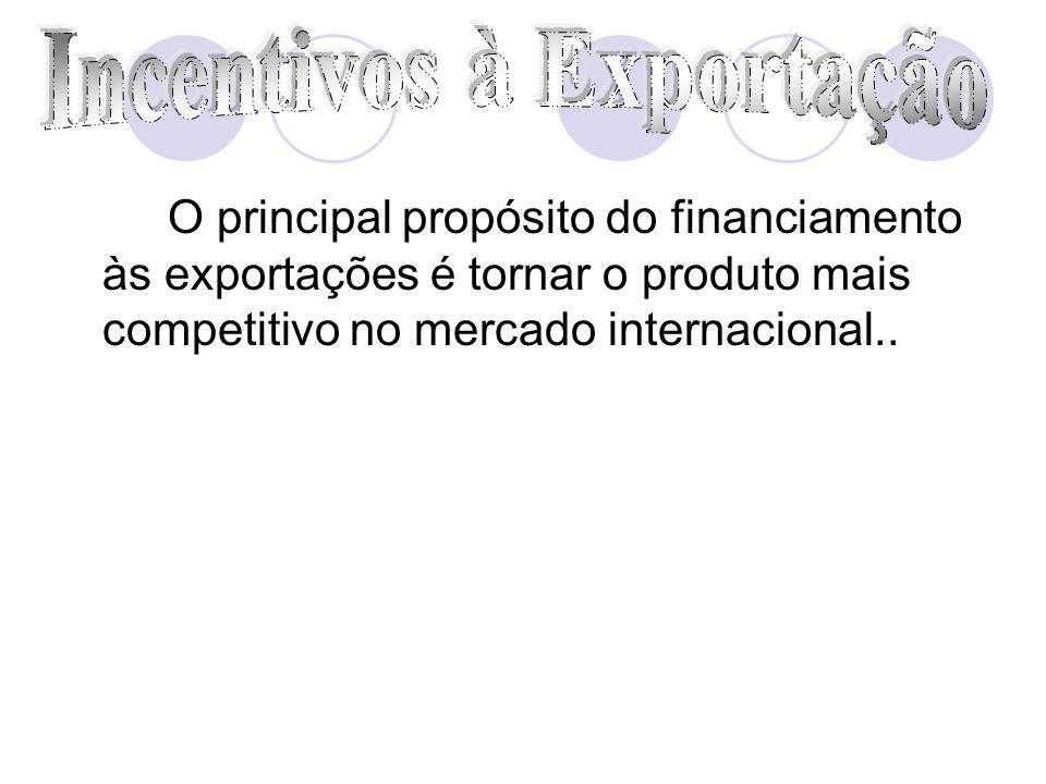 Incentivos à Exportação