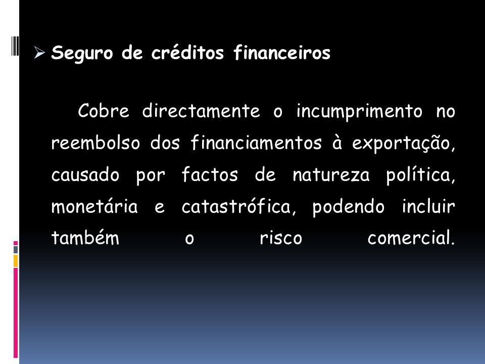 Seguro de créditos financeiros