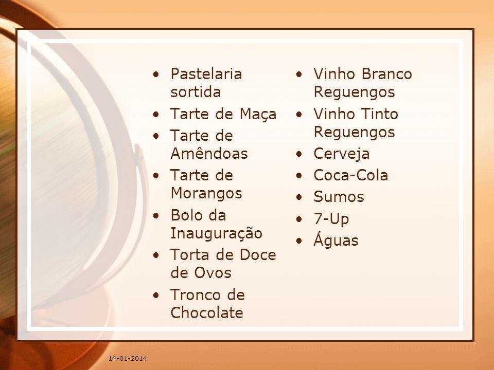 Vinho Branco Reguengos Tarte de Maça Vinho Tinto Reguengos