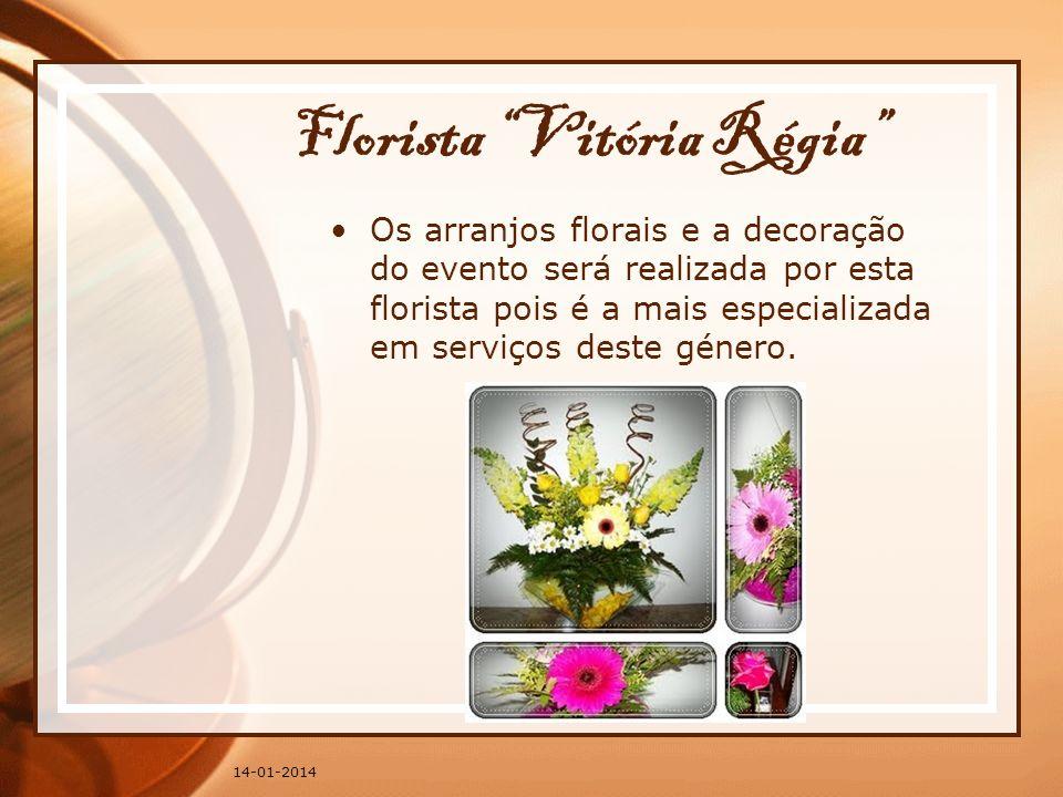 Florista Vitória Régia