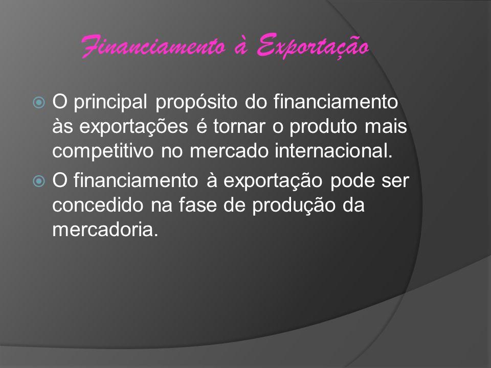Financiamento à Exportação