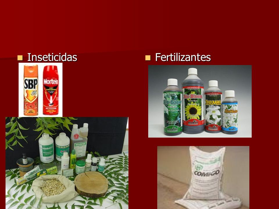 Inseticidas Fertilizantes