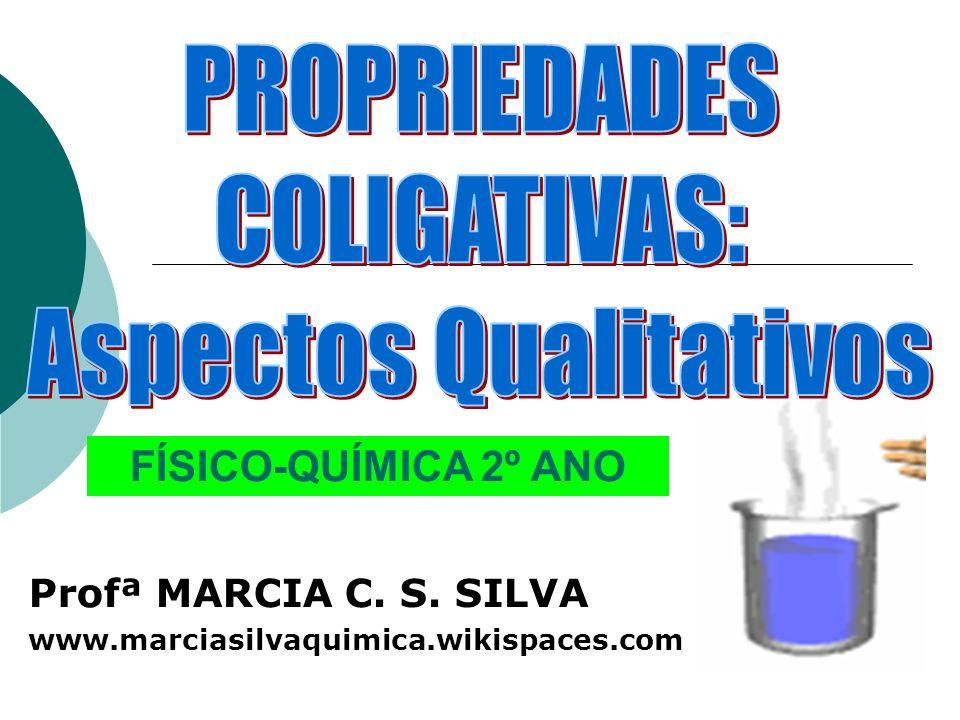 Profª MARCIA C. S. SILVA www.marciasilvaquimica.wikispaces.com