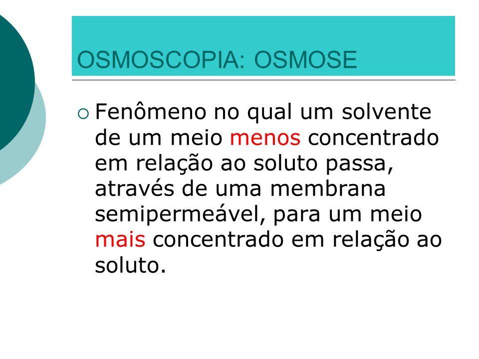 OSMOSCOPIA: OSMOSE