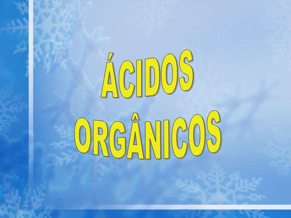 ÁCIDOS ORGÂNICOS