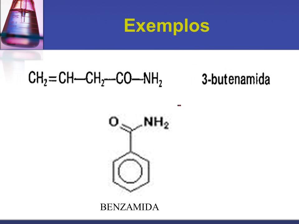 Exemplos BENZAMIDA