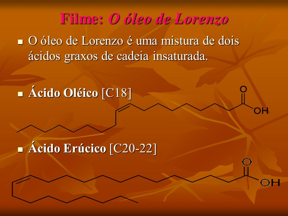 Filme: O óleo de Lorenzo