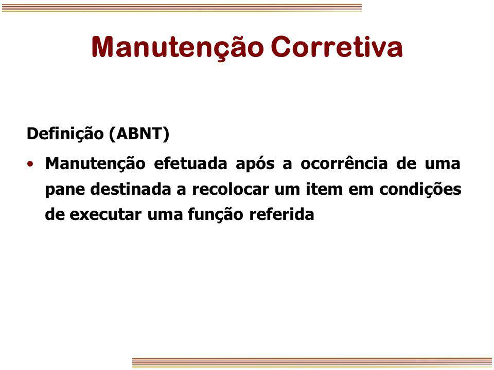 Manutenção Corretiva Definição (ABNT)