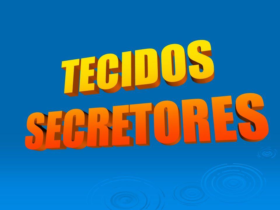 TECIDOS SECRETORES