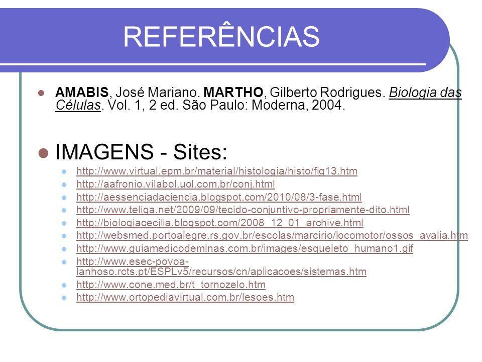REFERÊNCIAS IMAGENS - Sites: