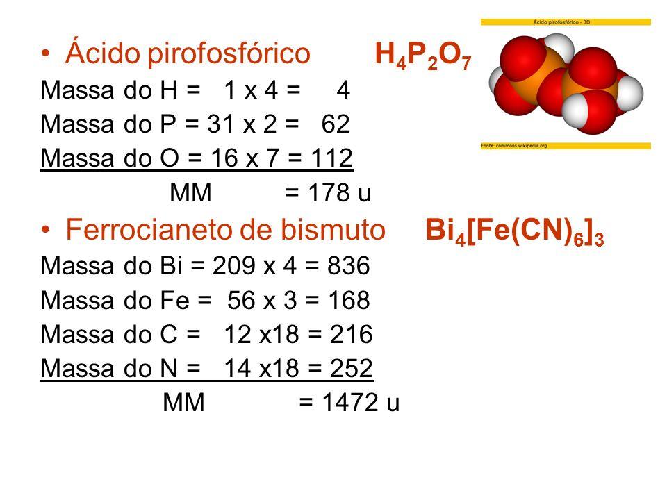 Ácido pirofosfórico H4P2O7
