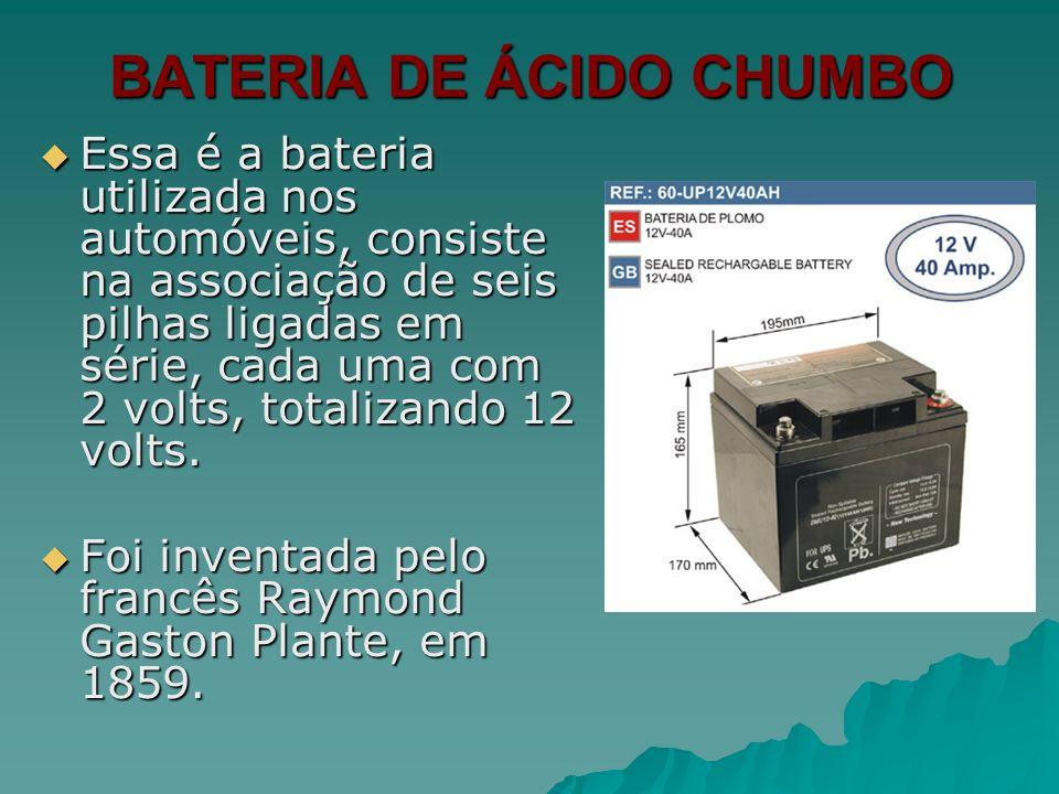 BATERIA DE ÁCIDO CHUMBO