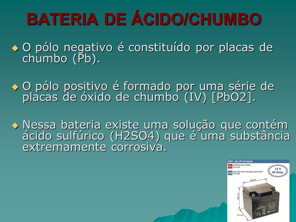 BATERIA DE ÁCIDO/CHUMBO