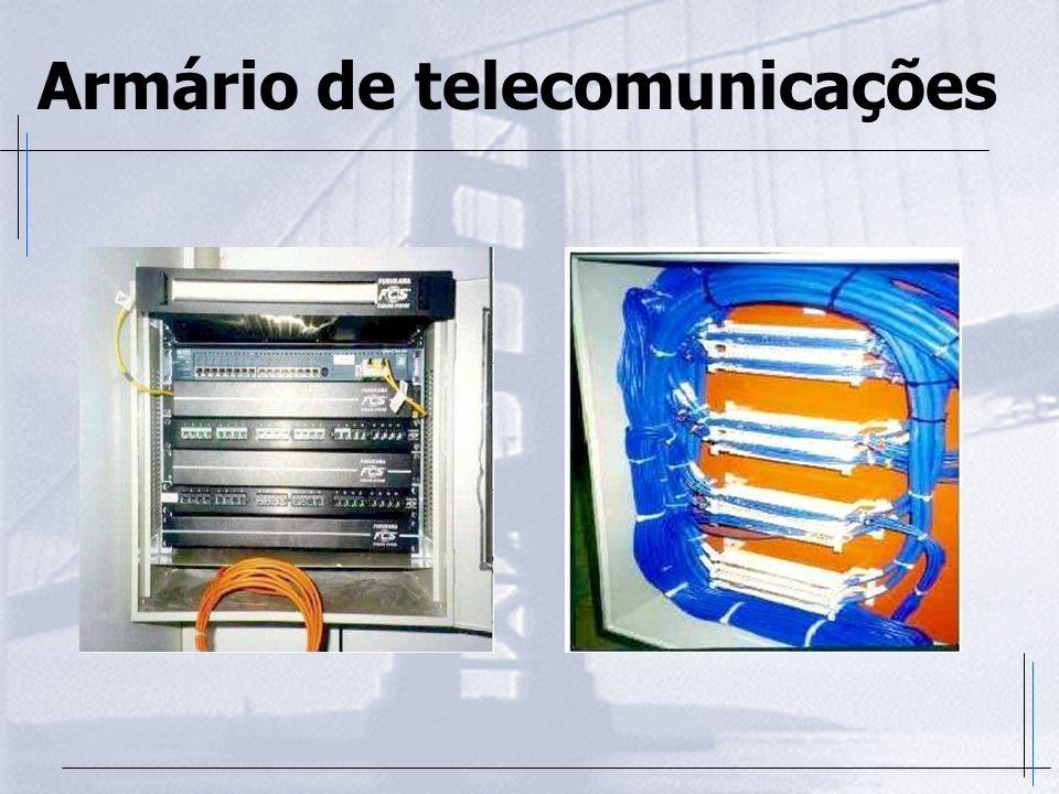 Armário de telecomunicações