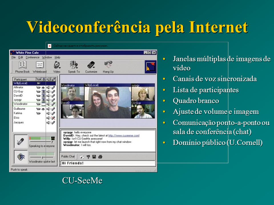 Videoconferência pela Internet