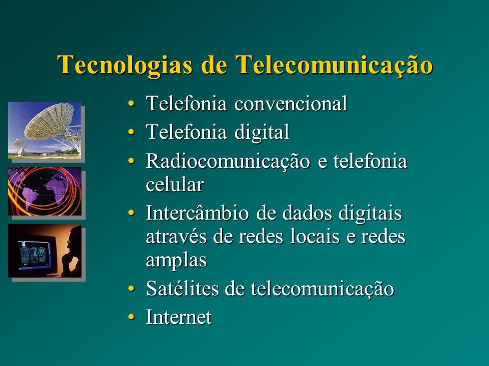 Tecnologias de Telecomunicação