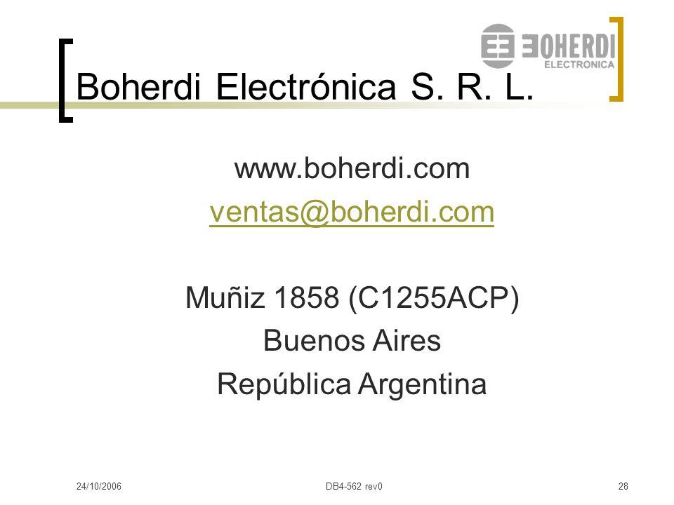 Boherdi Electrónica S. R. L.
