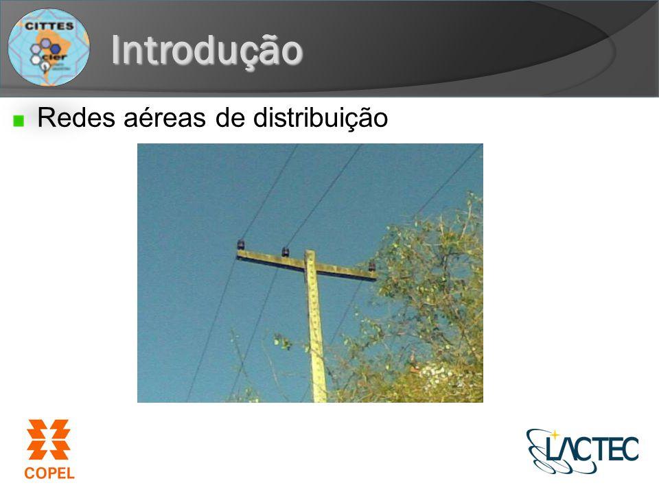 Introdução Redes aéreas de distribuição