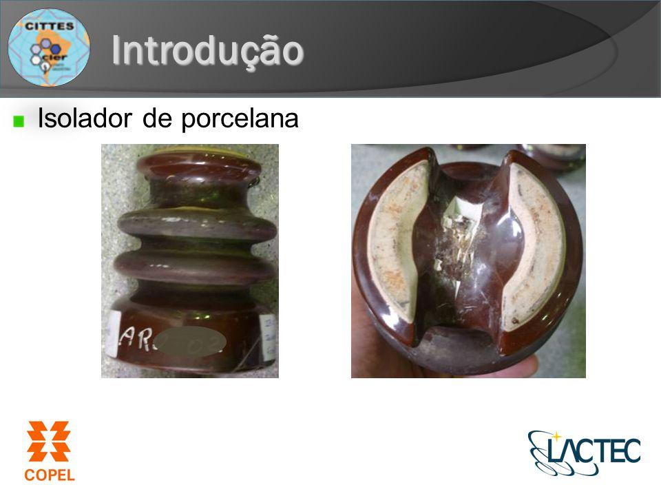 Introdução Isolador de porcelana