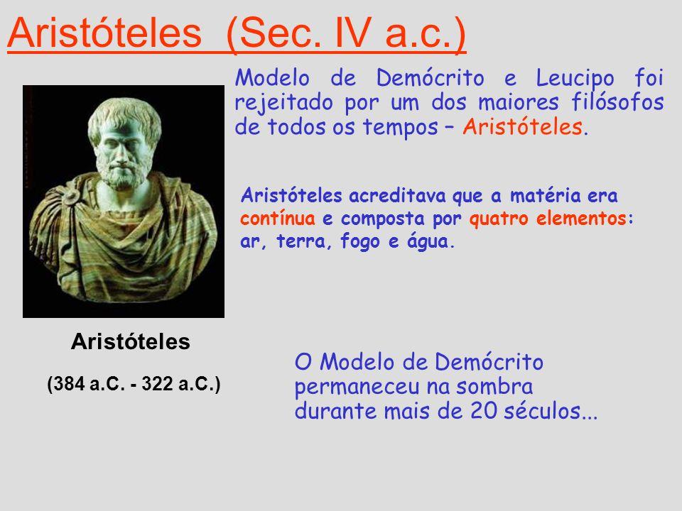 Aristóteles (Sec. IV a.c.)