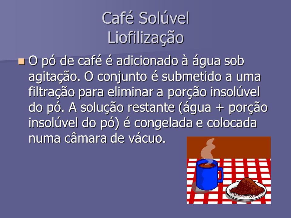 Café Solúvel Liofilização