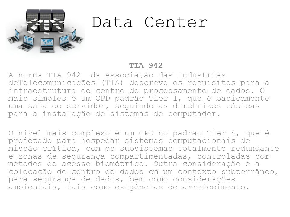 Data Center TIA 942.
