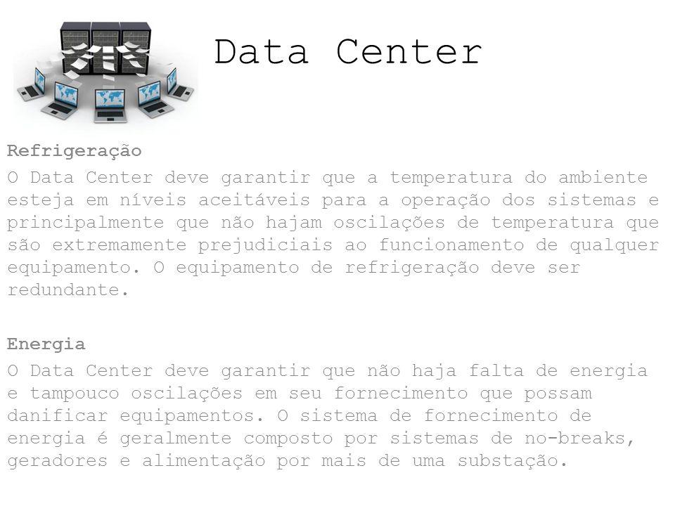Data Center Refrigeração