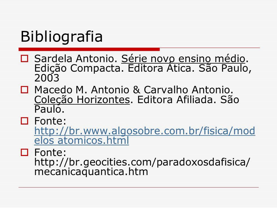 Bibliografia Sardela Antonio. Série novo ensino médio. Edição Compacta. Editora Ática. São Paulo, 2003.