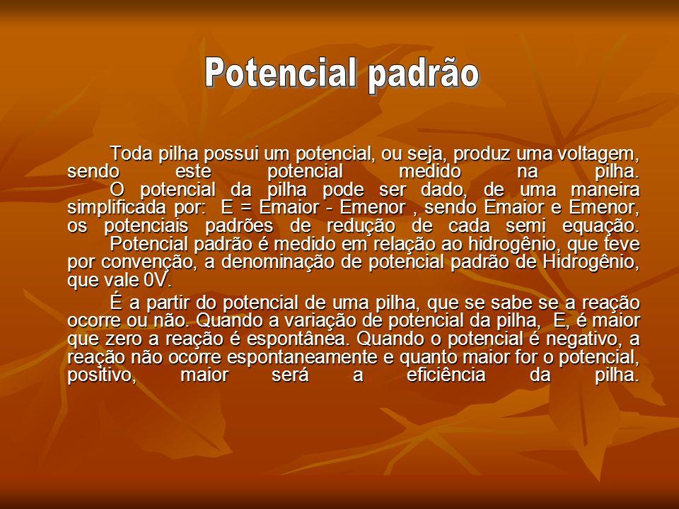Potencial padrão