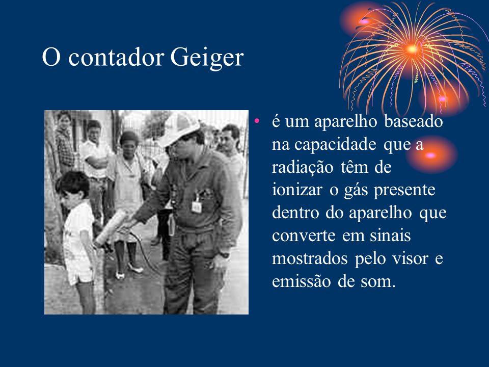 O contador Geiger