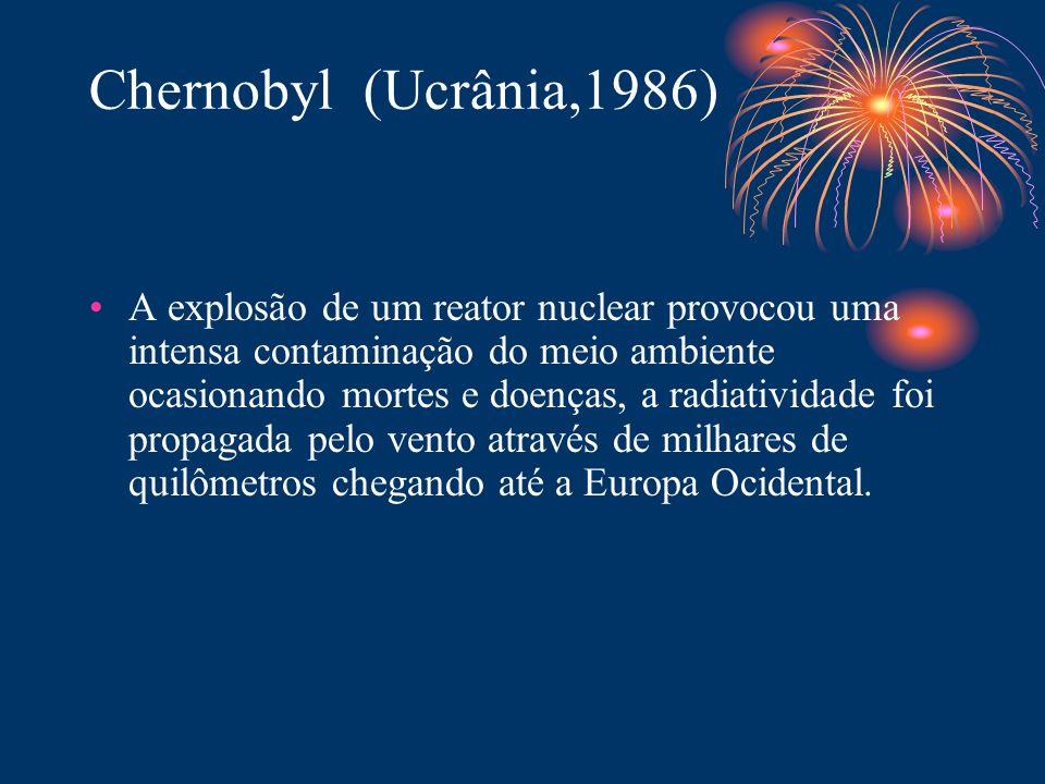 Chernobyl (Ucrânia,1986)