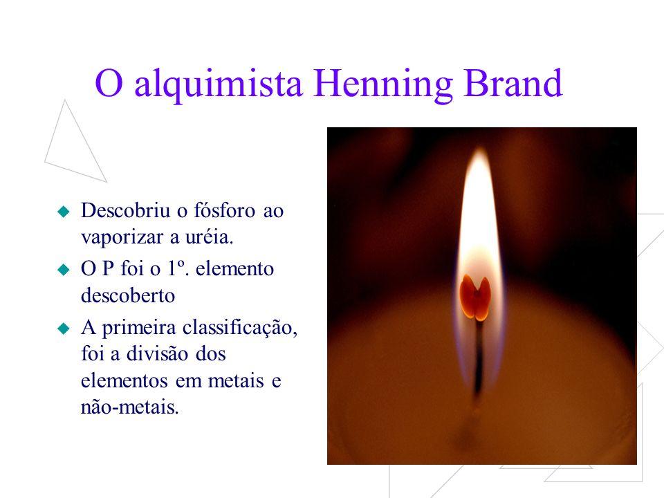 O alquimista Henning Brand
