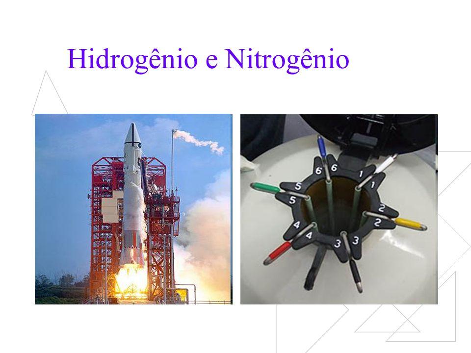 Hidrogênio e Nitrogênio