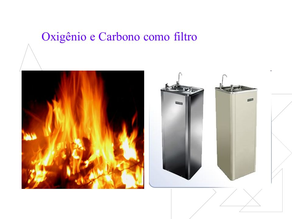 Oxigênio e Carbono como filtro