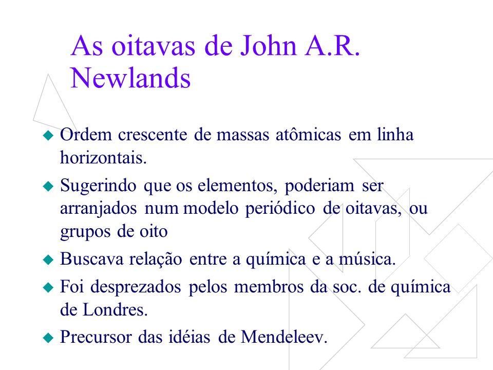 As oitavas de John A.R. Newlands